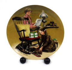 Knowles Americana Holidays Collection Don Spaulding FATHER'S DAY Plate