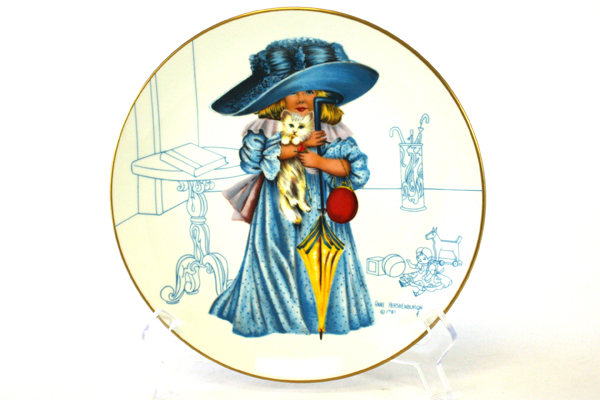 I'll Be Loved Anne Hershenburgh Collector Plate When I Grow Up