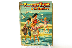 1954 Whitman Hard Cardboard Bound The Bobbsey Twins At The Seashore