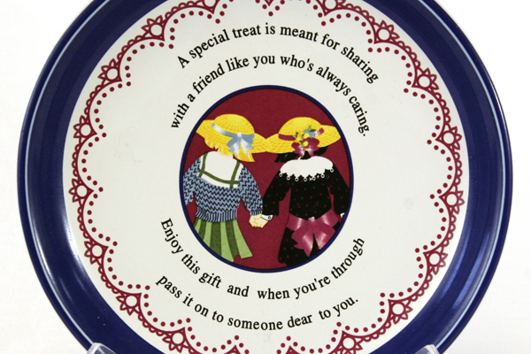 Ceramic Plate - Special Treat for Sharing For a Friend Like You Who is Caring