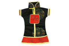 "10"" Traditional Japanese Silk Geisha Kimono Doll Dress"