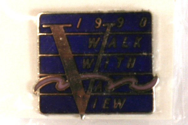 Lot of Four Tom McCall Run & Walk Pins And A Walk With A View Pin