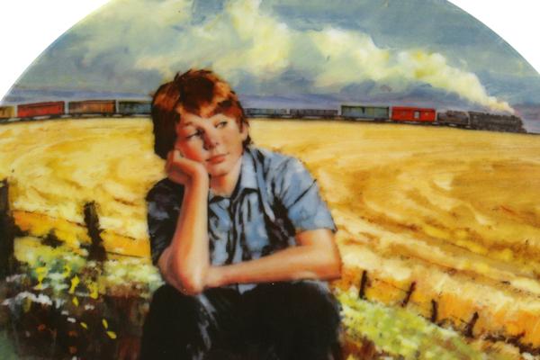 Wishful Thinking 1988 Stewart Sherwood Dominion China LE Plate #4 w/ COA