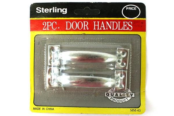 Sterling Package 2 Piece Door Handles Cabinet Drawer Door Shower Chrome