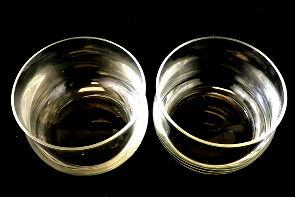 Lot Of Two Vintage Glass Bowls