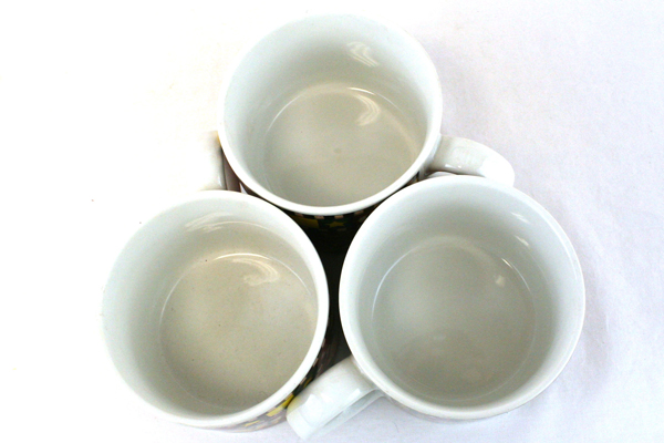 Debbie Mumm Sakura Set of 3 Gathering of Angels 1997 Genuine Stoneware Mugs