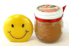 Lot of 2 - Spiced Apple and Smile Candle