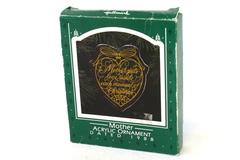 Hallmark Keepsake Acrylic Ornament MOTHER Puts Love Inside Christmas 1988 In Box
