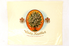 White Heather Cigar Box Label