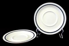"""Set of 2 Dansk Bistro Christianshavn Porcelain Saucer Plate 7.75"""""""