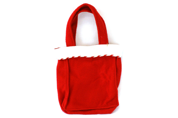 "10"" x 8"" Felt Snowman Gift Bag With Photo Holder"