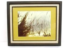 "Vintage Framed Photograph Ducks In Flight At Dawn 13.5"" x 10.5"" Picture Den Art"