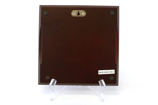 Brown Wall plaque With A Champagne And Grape Decor