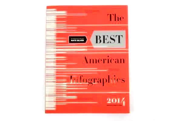 The Best American Infographics 2014 Nate Silver Gareth Cook SC Mariner Books