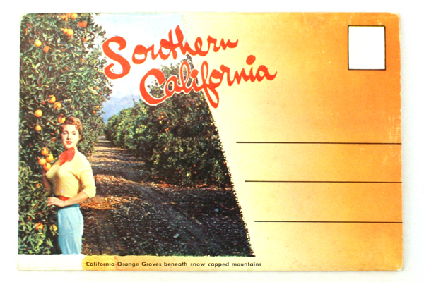 Vintage Southern California Postcard Folding Booklet- 14 Great Photos!