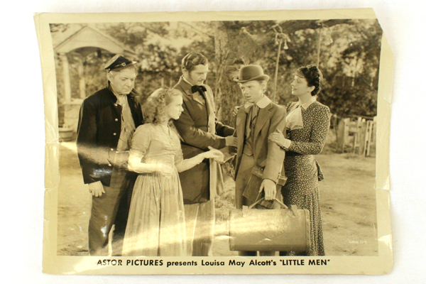 """Astor Pictures 1940's  Little Men Movie 8"""" x 10"""" Sepia Still With Kay Francis"""