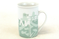 1998 Starbucks Tea In Many Languages Ceramic Mug