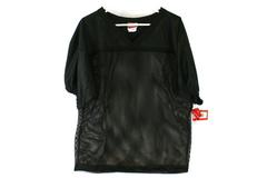 Rawlings Practice Black Mesh Football Jersey Adult Size Medium FJ9204 w/ Tag