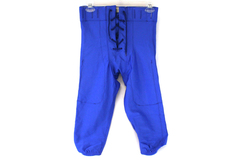 A4 Prime N6141 Blue Adult Size Small Football Game Sports Pants