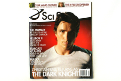 August 2008 Sci Fi Channel Magazine Christian Bale Returns As Dark Knight