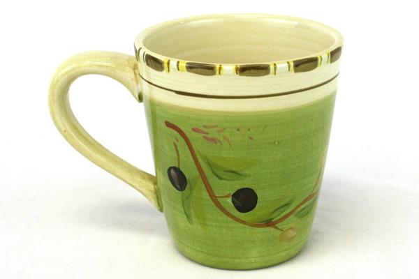 Hand-Painted HD Designs Ceramic Plate & Mug Set