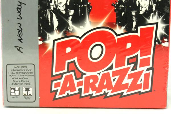 Imagination POP!-A-Razzi E! Entertainment DVD Celebrity Trivia Game NIB
