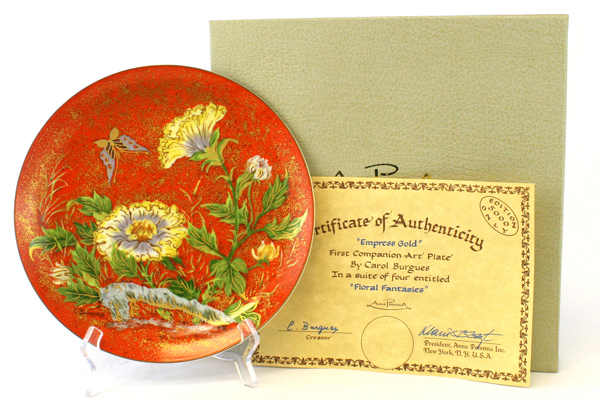 Anna Perenna Empress Gold Dr. Irving Carl Burgues 1st Floral Fantasies Series LE