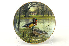 Knowles Plate #3 The Wood Duck 1987 Living With Nature Jerner's Ducks