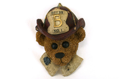1998 Boyds Bears & Friends Firemen Elliot the Hero Wall Plaque #654281