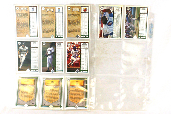 Lot of 29 1989 Upper Deck Baseball Cards - Rookie, MVP, Player Cards