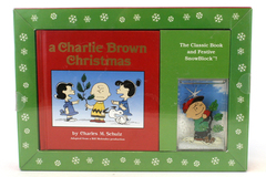 A Charlie Brown Christmas Charles Schulz Peanuts Holiday Gift Pack w/ SnowBlock