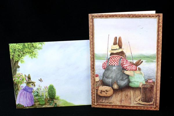 5 Birthday Day Cards First Birthday 3 Third Bunnies Kids Toddlers Spring