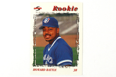 1996 Score Baseball Card Howard Battle RC Philadelphia Phillies Third Base #510