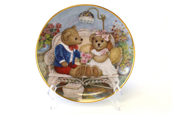 Franklin Mint First Anniversary Collectible Plate Patricia Brooks