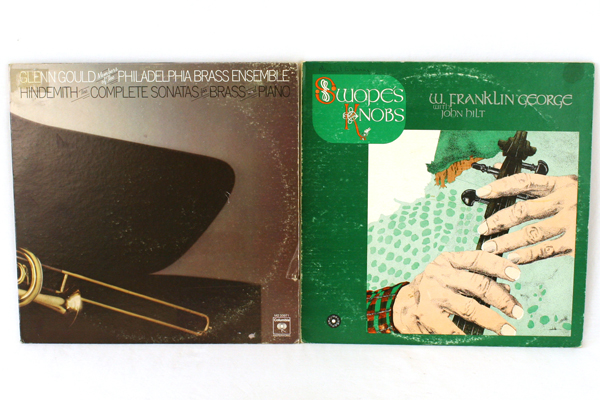 Lot of 3 33 RPM String & Brass Records Harp Reels Sonatas