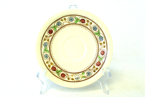 """Lot Of Three Vintage Spode Firenze 6"""" Saucers # 2/9034 (As-Is)"""
