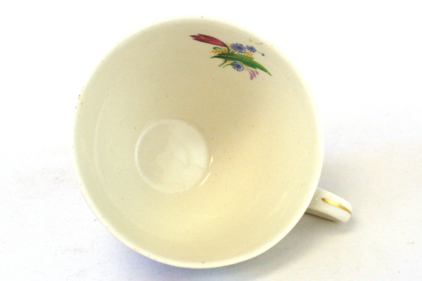 Vintage Midwinter Porcelain Spring Bouquet Cup And Saucer