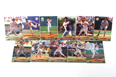 Fleer Ultra Series 2 California Angels 1992 Baseball Team Set of 11 Cards