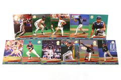 Fleer Ultra Series II Houston Astros 1992 Baseball Set of 11