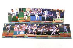 Fleer Ultra Series II Texas Rangers 1992 Baseball Team Set of 11