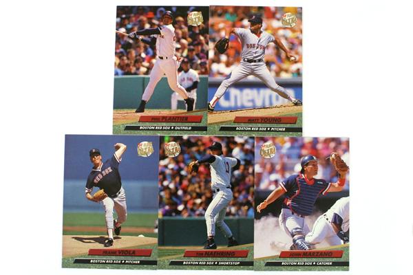 Set of 10 Boston Red Sox Baseball Team Fleer Ultra Series 1992