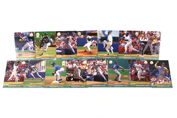 Fleer Ultra Series II Milwaukee Brewers 1992 Baseball Team Set of 15