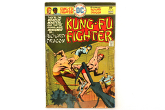 Vintage DC Comic Book Issue #3 Kung-Fu Fighter Richard Dragon Sept 1975