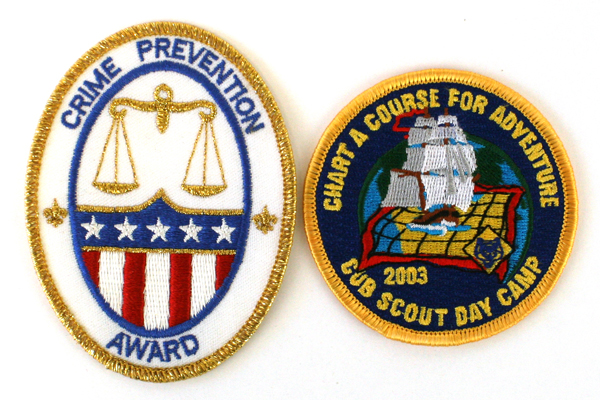 Two New Boy Scout Patches Chart A Course For Adventure and Crime Prevention