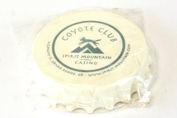 Spirit Mountain Casino Coyote Club Bottle Opener/Magnet NIP