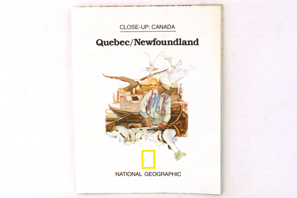 National Geographic May 1980  Vol. 157 No 5 Supplement Map Close-Up Canada