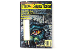 Magazine of Fantasy & Science Fiction Dec. 1981 Let Einstein Be Isaac Asimov
