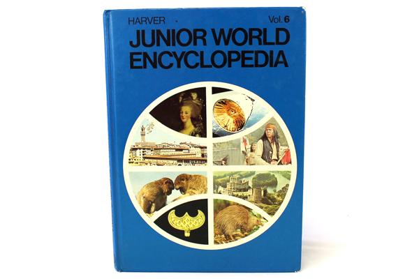 1972 Harver Junior Encyclopedia Volume 6 Fencing - Gravitation