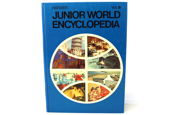 1972 Harver Junior Encyclopedia Volume 8 Insects - Loess