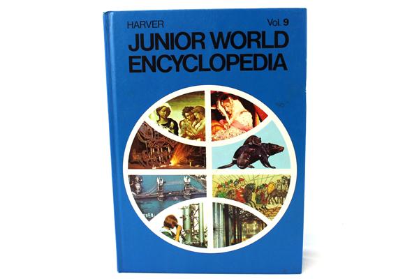 1972 Harver Junior Encyclopedia Volume 9 London - Momentum